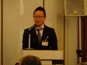 司会をしてくれた年度幹事の平田さん